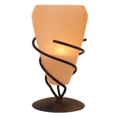 Cone-Tealight-with-Metal-Stand