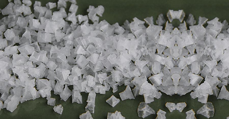 Fleur de Sel Pyramid Crystals
