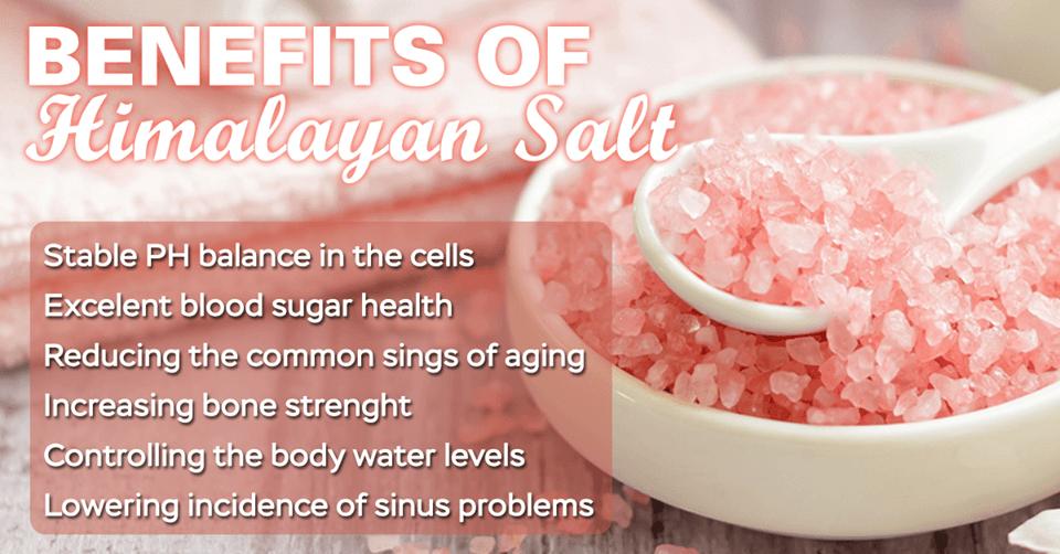 Organic pink Himalayan salt